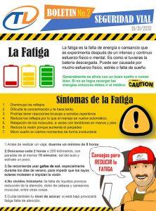La Fatiga, consejos y precauciones
